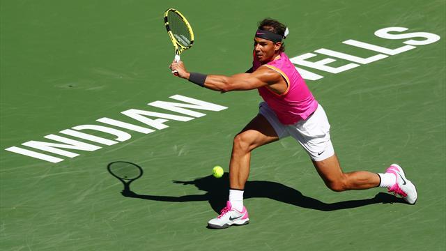 Indian Wells 2019, Khachanov-Nadal: La rodilla hace saltar las alarmas (6-7(2) y 6-7 -2-)