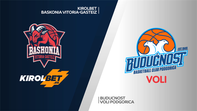 Highlights: Kirolbet Baskonia-Buducnost VOLI 82-62