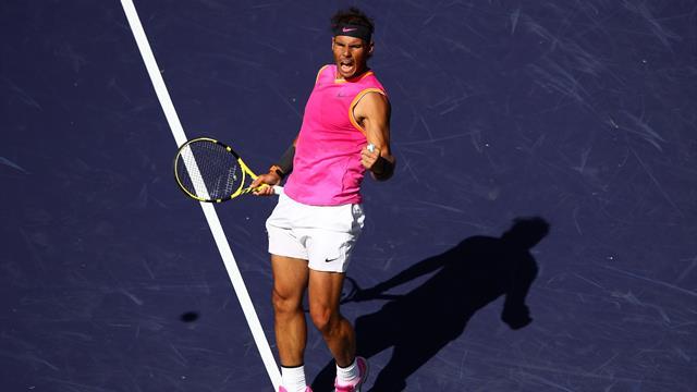 Au forceps, Nadal a rejoint Federer