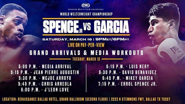 Spence-García: Récord y honor en juego en el combate más esperado (02:00, E2 y Eurosport Player)