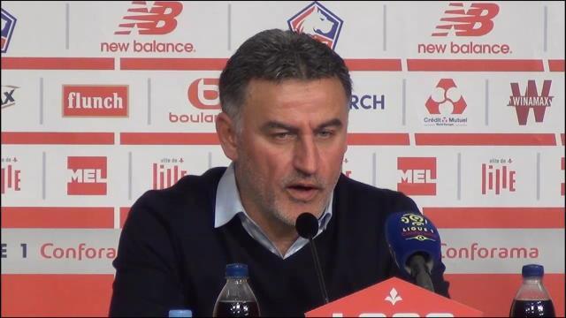 """29e j. - Galtier : """"On aurait mérité de marquer au moins un but"""""""