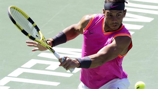 Nadal, jugando cojo, supera a Khachanov y se medirá a Federer en semifinales