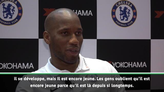"""Exclusif - Drogba sur Lukaku : """"Il a encore une marge de progression"""""""