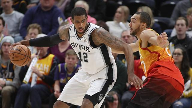 109-83. Aldridge y los Spurs siguen acumulando victorias seguidas