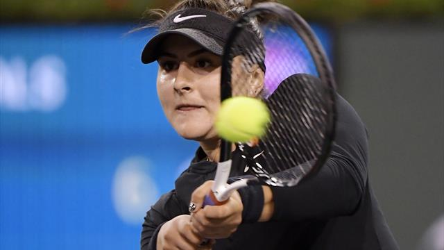 Andreescu shocks Svitolina to reach Indian Wells final