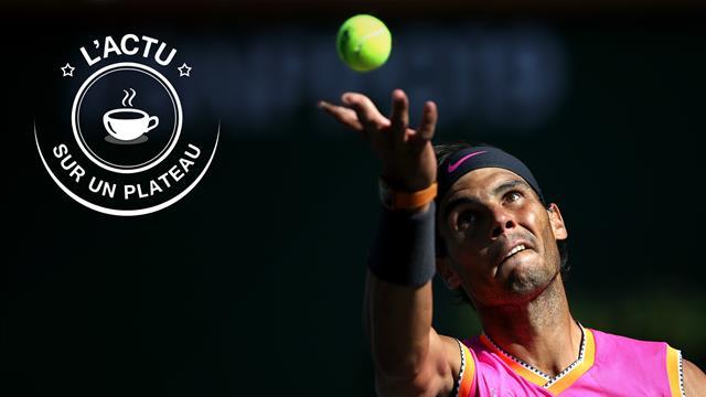 Federer - Nadal, Hamilton en pole, dernière du XV de France, 1re de Zidane : l'actu sur un plateau