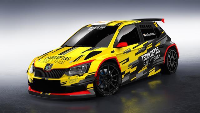 Tsouloftas shows his true colours ahead of maiden ERC1 Junior bid