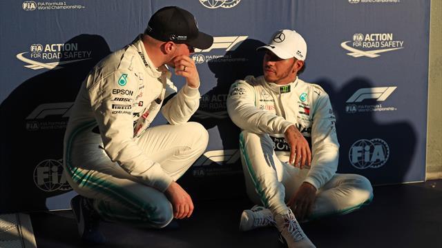Pole de Hamilton, rôle de Bottas, remontée de Gasly... Le Grand Prix en questions