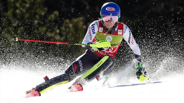 Shiffrin wins again to finish sensational Slalom season in style