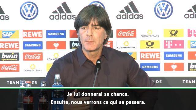 "Allemagne - Löw : ""Neuer reste le N.1 devant ter Stegen"""