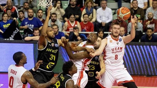 El UCAM, ya eliminado en Europa, recibe al Zaragoza centrado en salvarse