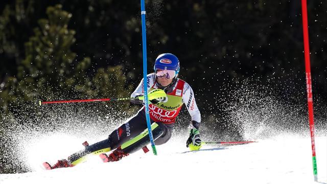 Shiffrin come Stenmark! Suo anche lo slalom di Soldeu, sono 40 in Coppa del Mondo
