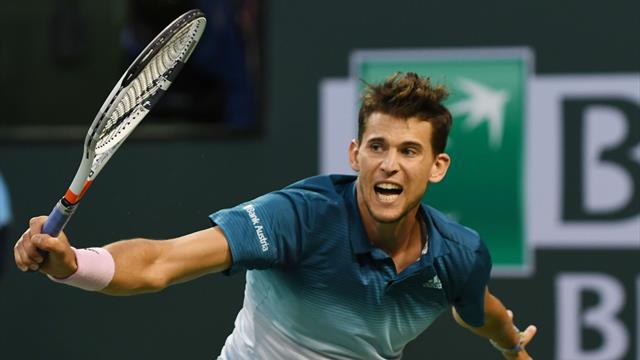 Indian Wells 2019 (Semifinales), Thiem-Raonic: Dominic se cita con Federer (7-6(3), 6-7(3) y 6-4)