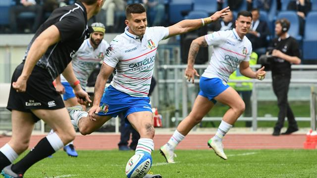 Italy miss out on golden chance to beat France and avoid whitewash