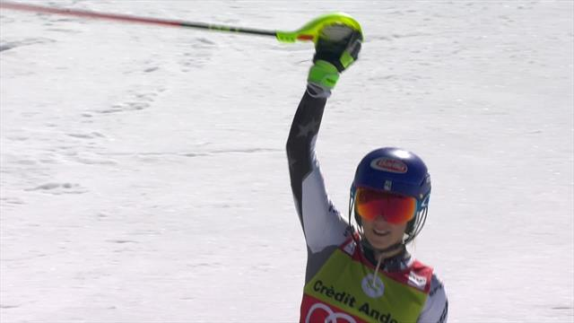 'One of the best... maybe of all time!' - Shiffrin claims 60th career win