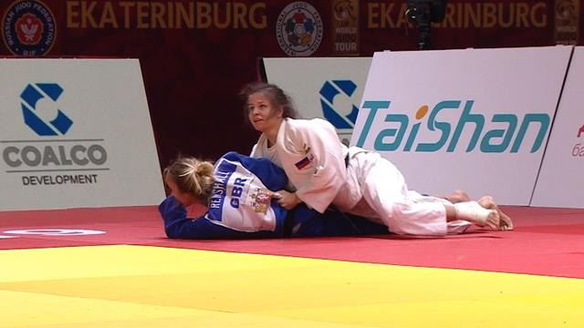 Britain's Lucy Renshall loses in -63kg final in Ekaterinburg