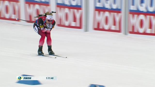 Norway claim relay gold in Ostersund