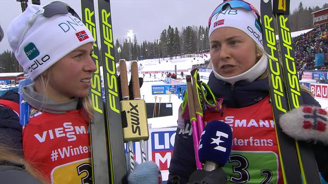 'We are an amazing team' - Norway team react to relay gold