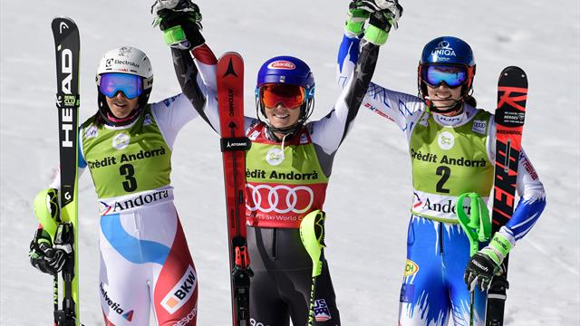 Mit Video | Shiffrin stellt mit Slalom-Sieg den Rekord von Stenmark ein