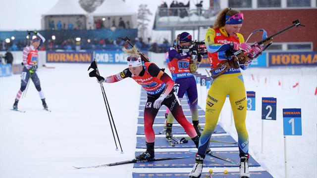 Highlights: Öberg flattern die Nerven, norwegische Staffel profitiert