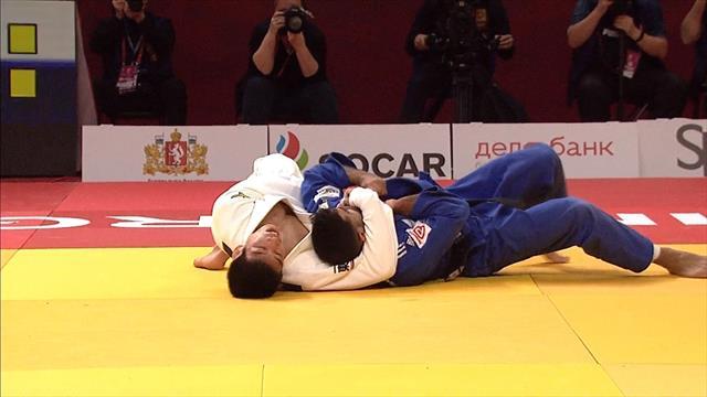 Muki beats Nagase in Ekaterinburg -81kg final