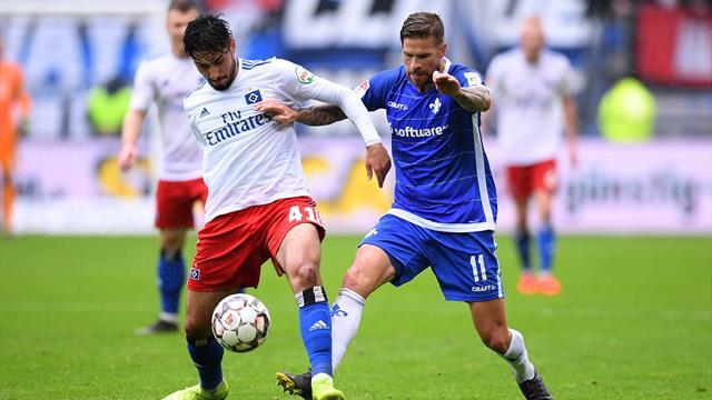 HSV-Pleite nach 2:0 - St. Pauli kommt unter die Räder