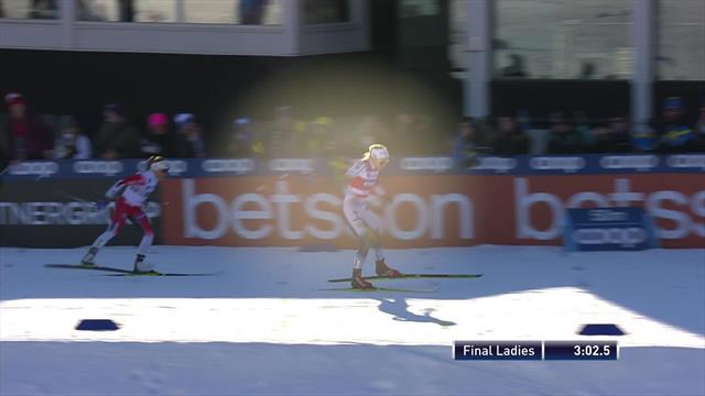 Nilsson takes sprint title in Falun