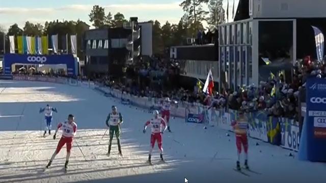 Tripletta norvegese nella sprint di Falun: vince ancora Klaebo, Pellegrino chiude quarto