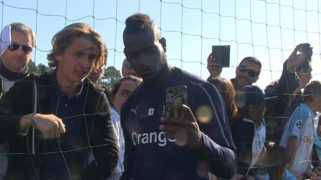 "PSG/OM - Tuchel : ""Balotelli est toujours dangereux"""