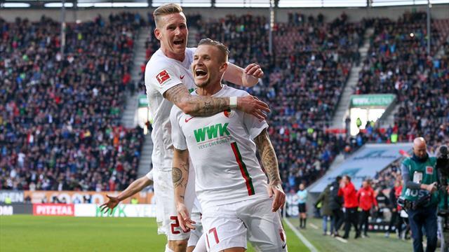 Big Point im Abstiegskampf: Augsburg feiert Comeback-Sieg gegen Hannover
