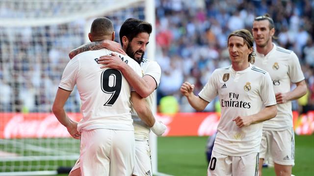 Torna Zidane e torna il sorriso al Real Madrid: 2-0 al Celta, decidono Isco e Bale