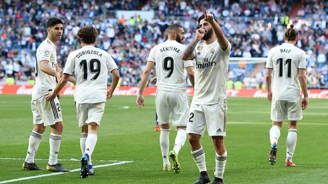 Zidane-Comeback geglückt: Isco und Bale führen Real zum Sieg