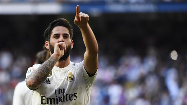 LaLiga, Real Madrid-Celta: RenacIsco (2-0)