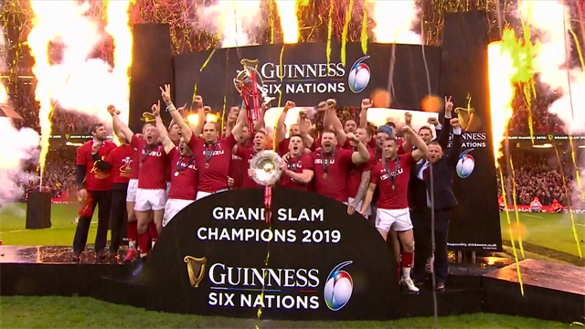 Highlights: Galles-Irlanda 25-7, è Grande Slam per i Dragoni