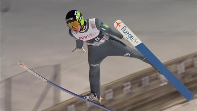 Slovenia triumph in Vikersund Raw Air men's team event