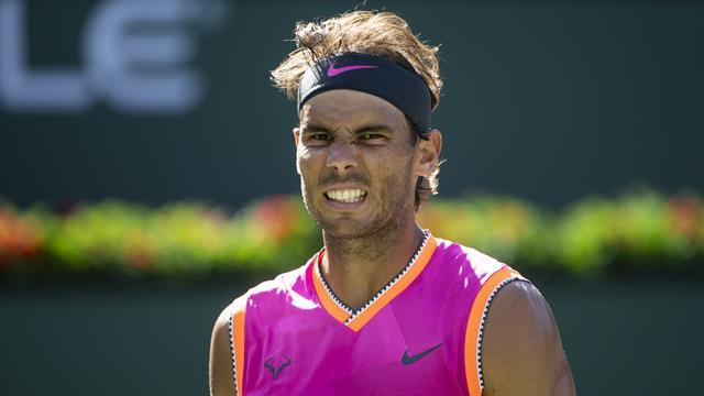 Nadal non ce la fa e si arrende ai dolori al ginocchio lo spagnolo si ritira Federer in finale