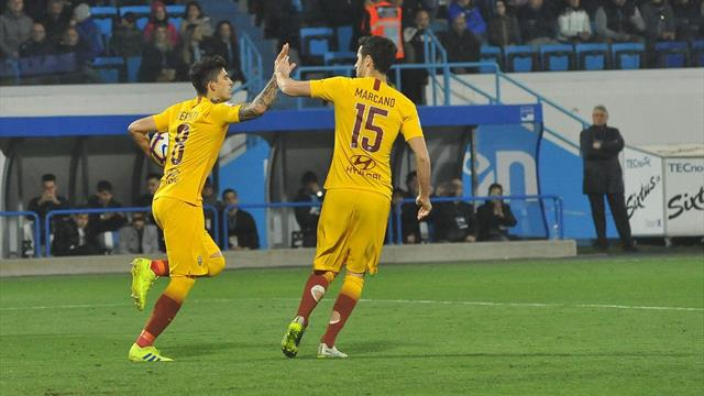Roma top-four hopes hit by defeat at SPAL