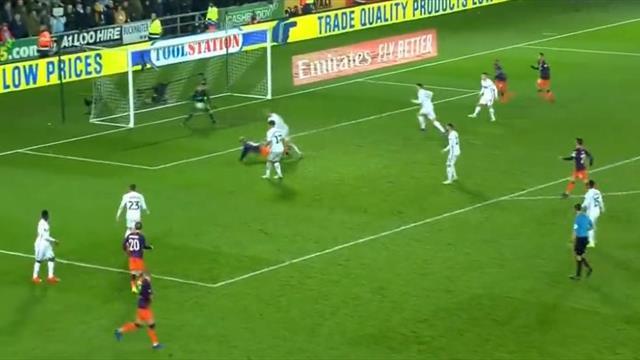 «Сити» горел 15-й команде Чемпионшипа, но Агуэро встал со скамейки и пропихнул «горожан» в полуфинал