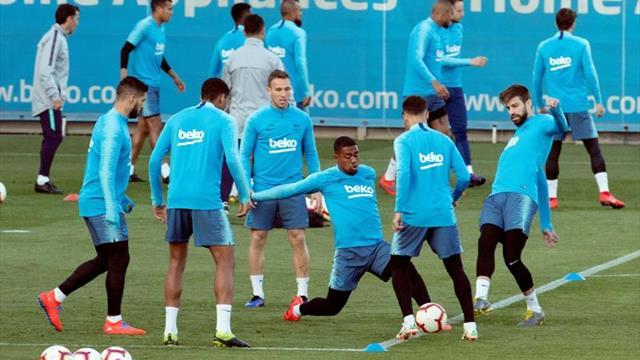 Boateng, novedad en la convocatoria del Barça ante el Betis