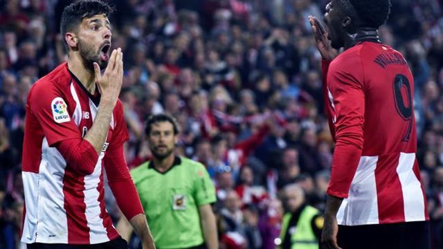 2-0. El Athletic ahonda en la depresión del Atlético