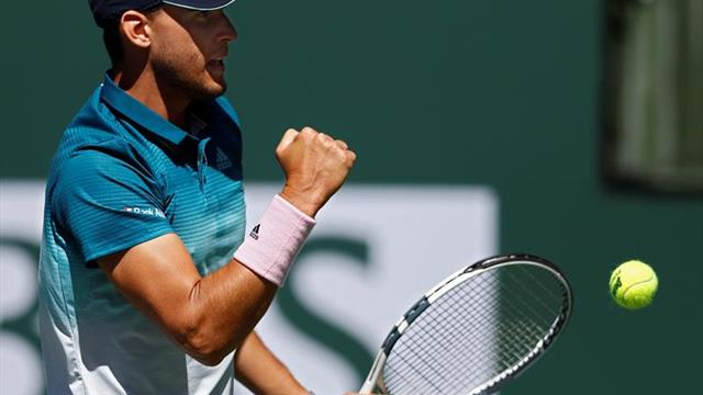 Thiem se impone a Raonic y jugará la final de Indian Wells con Federer