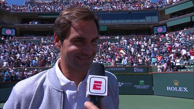 """Federer, version nostalgique : """"J'espère qu'on aura d'autres confrontations avec Rafa"""""""