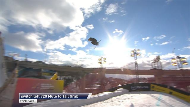 Gremaud wins Big Air final in Quebec
