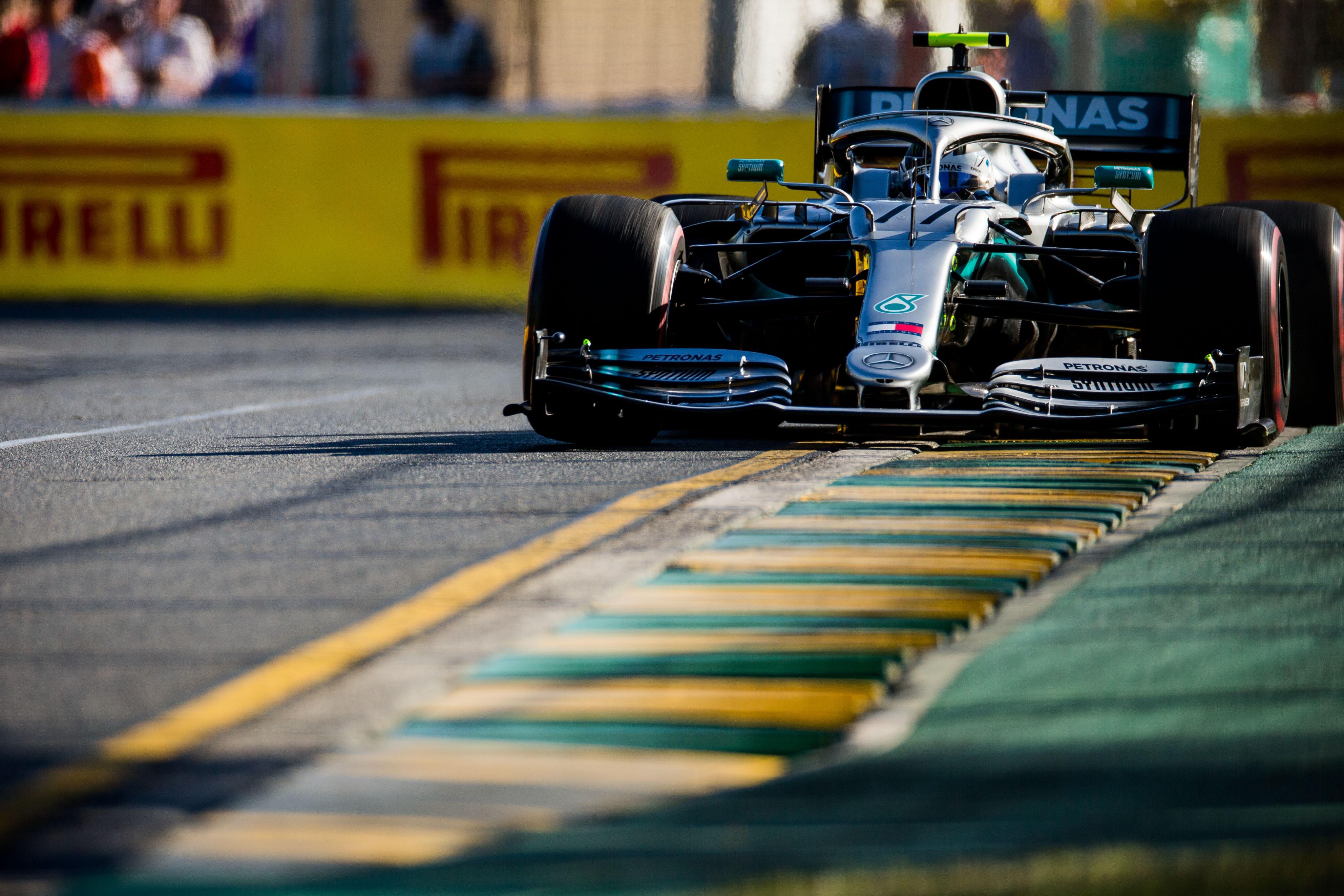 Valtteri Bottas (Mercedes) au Grand Prix d'Australie 2019