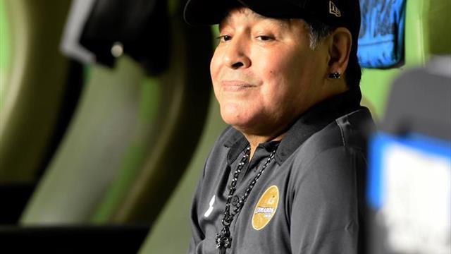 Maradona critica a Infantino por querer aumentar equipos en Catar 2022