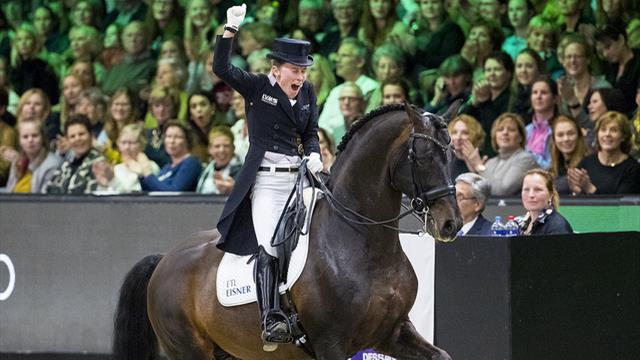 Helen Langehanenberg und Damsey sichern sich mit persönlicher Bestnote das Ticket fürs Finale