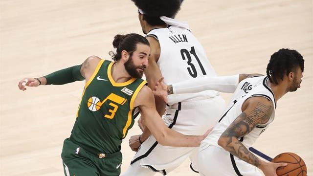 Rubio apoya a Jazz en el triunfo ante Nets; Juancho tiene minutos con Nuggets