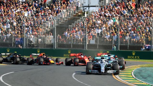 Bottas trumpft in Melbourne auf, Reifendesaster bei Vettel