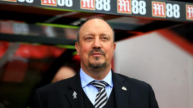 Benitez thinks one more win will make Newcastle safe from drop