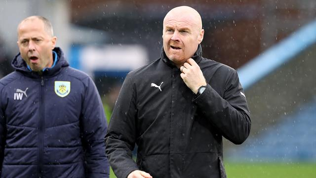 Sean Dyche: Burnley lacked quality against 10-man Leicester